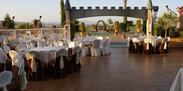 Banquetes en Jardines